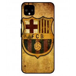 Durable FC Barcelona Cover For Google Pixel 4