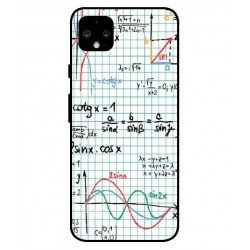 Durable Mathematics Cover For Google Pixel 4 XL