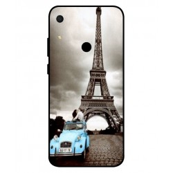 Durable Paris Eiffel Tower Cover For Huawei Y6s 2019