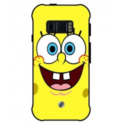 Durable SpongeBob Cover For Samsung Galaxy Xcover FieldPro