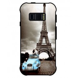 Durable Paris Eiffel Tower Cover For Samsung Galaxy Xcover FieldPro