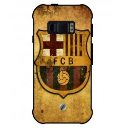 Durable FC Barcelona Cover For Samsung Galaxy Xcover FieldPro