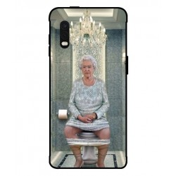 Durable Queen Elizabeth On The Toilet Cover For Samsung Galaxy Xcover Pro