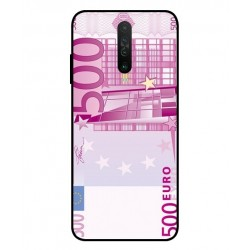 Durable 500 Euro Note Cover For Xiaomi Redmi K30 5G
