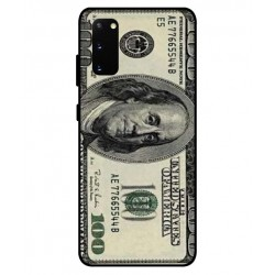 Durable 100 Dollar Note Cover For Samsung Galaxy S20