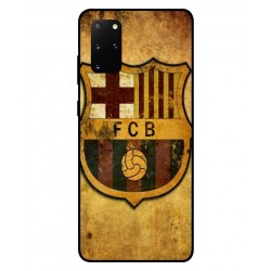 Durable FC Barcelona Cover For Samsung Galaxy S20 Plus