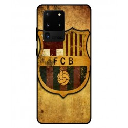 Durable FC Barcelona Cover For Samsung Galaxy S20 Ultra
