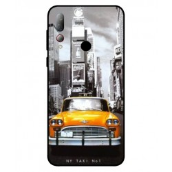 Durable New York Cover For HTC Desire 19 Plus