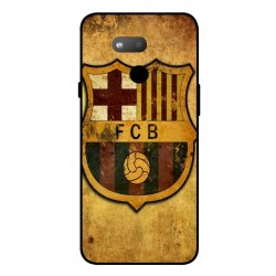 Durable FC Barcelona Cover For HTC Exodus 1s
