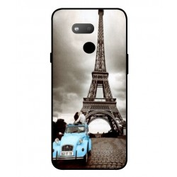 Durable Paris Eiffel Tower Cover For HTC Exodus 1s