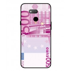 Durable 500 Euro Note Cover For HTC Exodus 1s