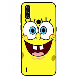Durable SpongeBob Cover For HTC Wildfire R70