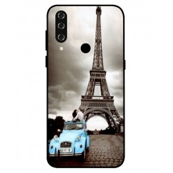 Durable Paris Eiffel Tower Cover For HTC Wildfire R70