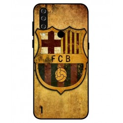 Durable FC Barcelona Cover For HTC Wildfire R70