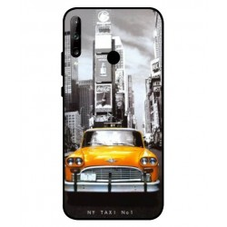 Durable New York Cover For Huawei P40 Lite E