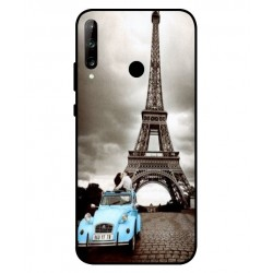 Durable Paris Eiffel Tower Cover For Huawei P40 Lite E