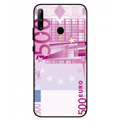 Durable 500 Euro Note Cover For Huawei P40 Lite E