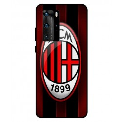 Durable AC Milan Cover For Huawei P40 Pro