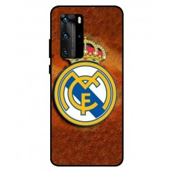Durable Real Madrid Cover For Huawei P40 Pro