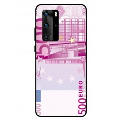 Durable 500 Euro Note Cover For Huawei P40 Pro