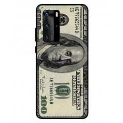 Durable 100 Dollar Note Cover For Huawei P40 Pro
