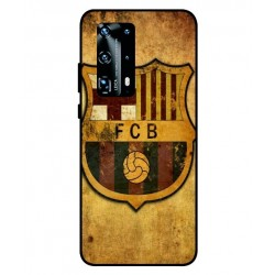 Durable FC Barcelona Cover For Huawei P40 Pro Plus