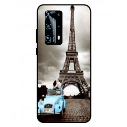 Durable Paris Eiffel Tower Cover For Huawei P40 Pro Plus