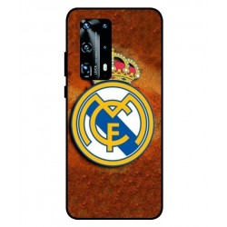 Durable Real Madrid Cover For Huawei P40 Pro Plus