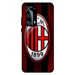 Durable AC Milan Cover For Huawei P40 Pro Plus