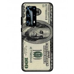 Durable 100 Dollar Note Cover For Huawei P40 Pro Plus