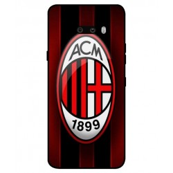 Durable AC Milan Cover For LG G8X ThinQ