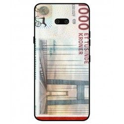 1000 Danish Kroner Note Cover For LG G8X ThinQ