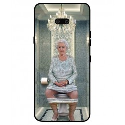 Durable Queen Elizabeth On The Toilet Cover For LG G8X ThinQ