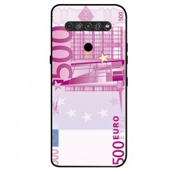 Durable 500 Euro Note Cover For LG K41S