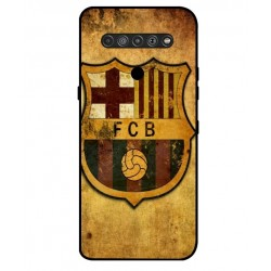 Durable FC Barcelona Cover For LG K51S