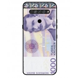 1000 Norwegian Kroner Note Cover For LG K51S