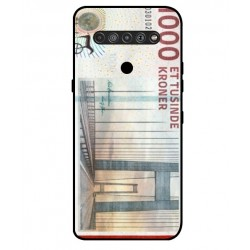 1000 Danish Kroner Note Cover For LG K51S