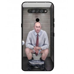 Durable Vladimir Putin On The Toilet Cover For LG K51S