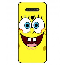 Durable SpongeBob Cover For LG Q51