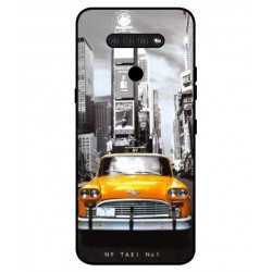 Durable New York Cover For LG Q51