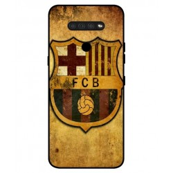 Durable FC Barcelona Cover For LG Q51