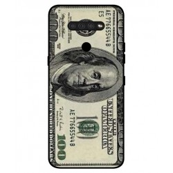 Durable 100 Dollar Note Cover For LG Q51
