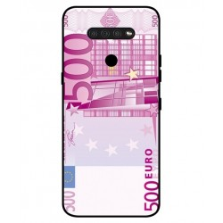 Durable 500 Euro Note Cover For LG Q51