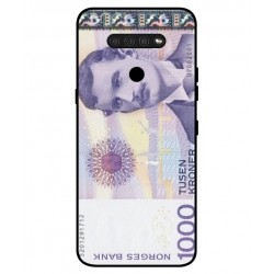 1000 Norwegian Kroner Note Cover For LG Q51