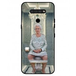 Durable Queen Elizabeth On The Toilet Cover For LG Q51