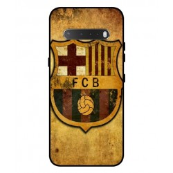 Durable FC Barcelona Cover For LG V60 ThinQ 5G
