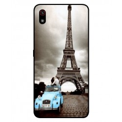 Durable Paris Eiffel Tower Cover For LG W10 Alpha
