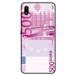 Durable 500 Euro Note Cover For LG W10 Alpha