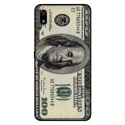 Durable 100 Dollar Note Cover For LG W10 Alpha