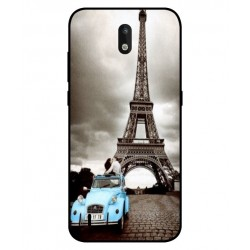 Durable Paris Eiffel Tower Cover For Nokia 1.3